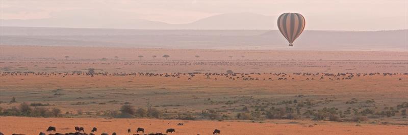 Balloon safaris in Masai Mara National Reserve