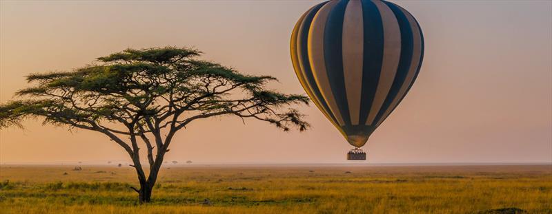 Balloon safaris in Serengeti National park
