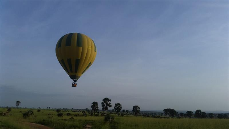 Balloon safaris in Uganda