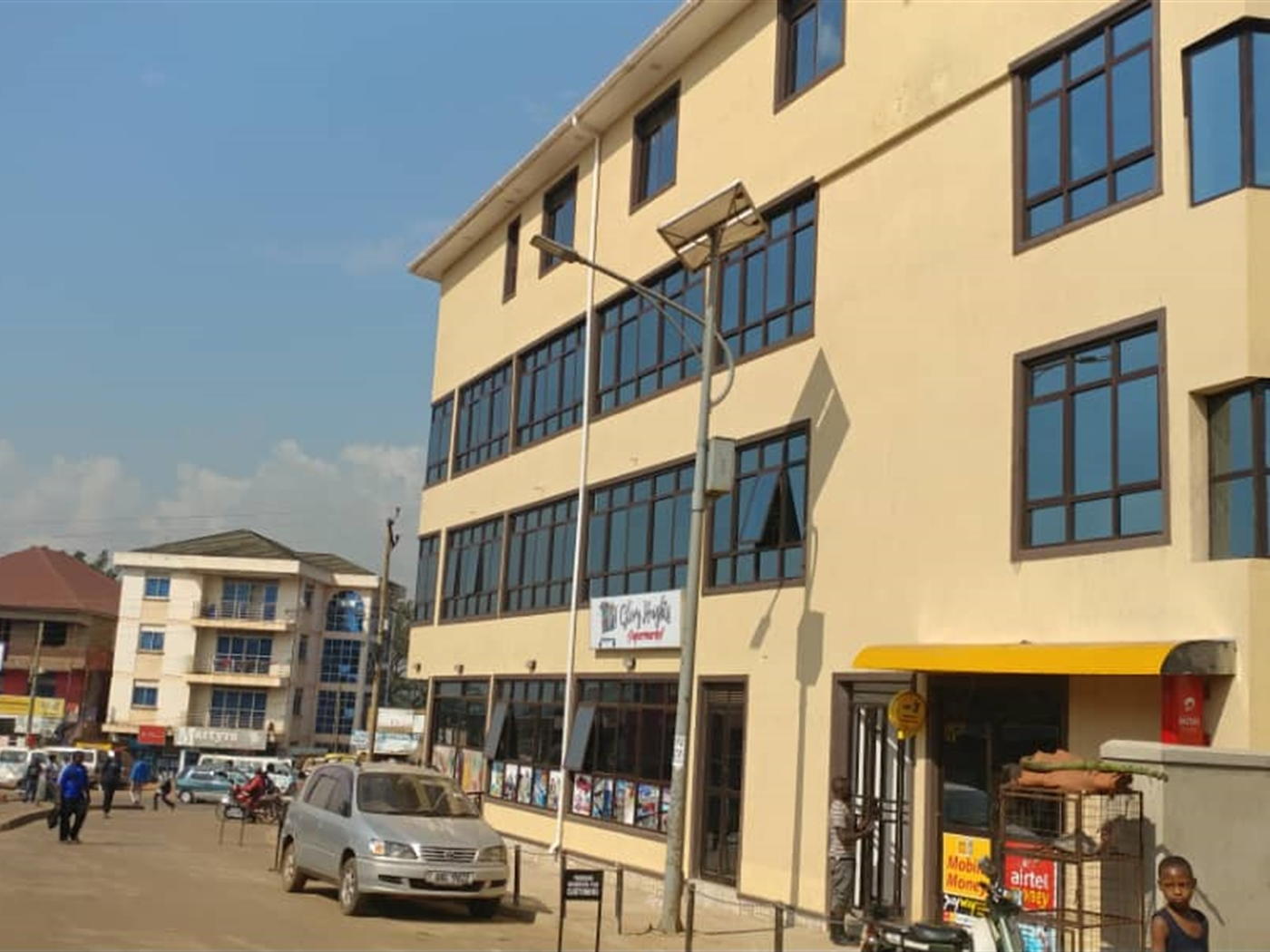 Commercial block for sale in Luzira Wakiso