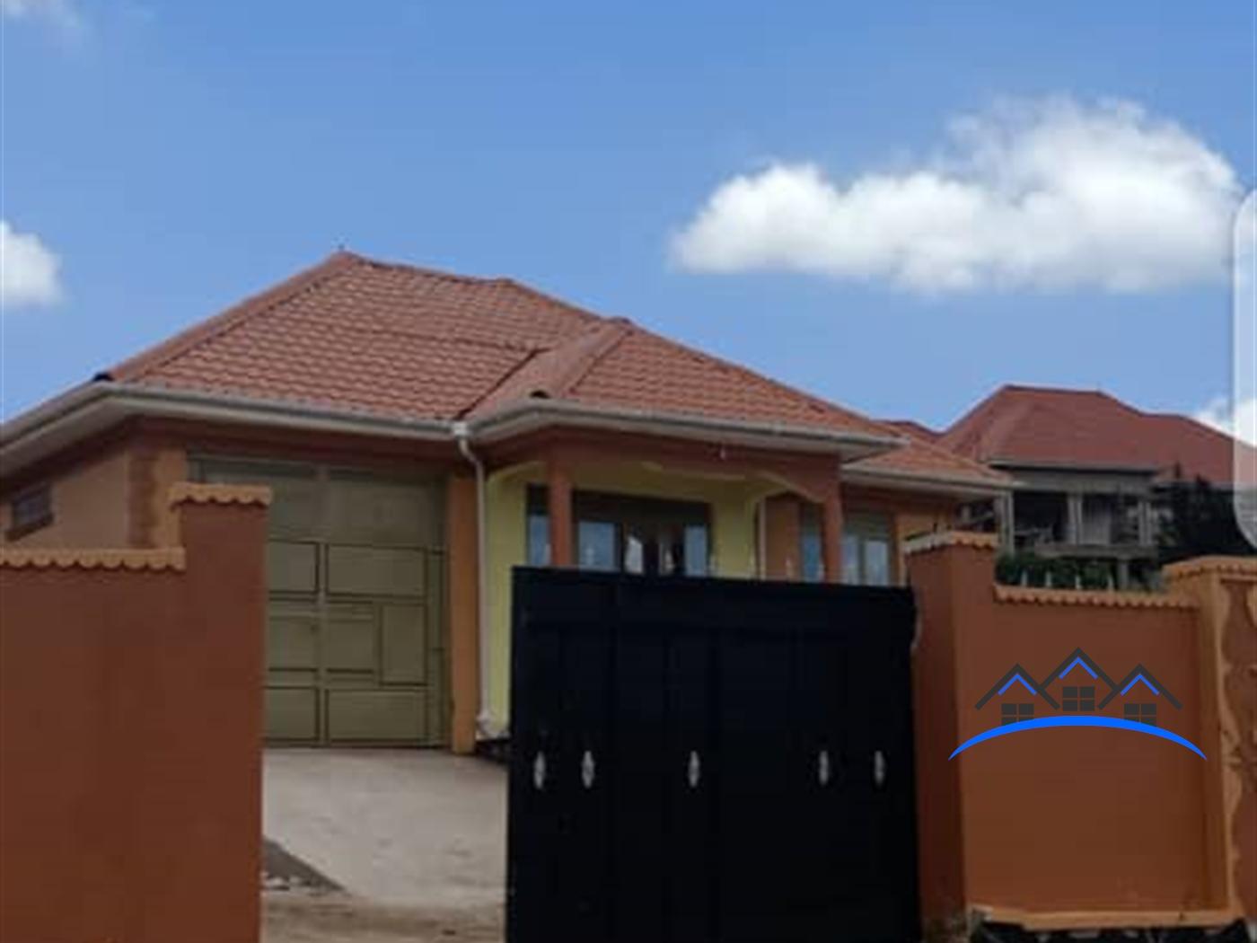 Bungalow for sale in Namusera Wakiso