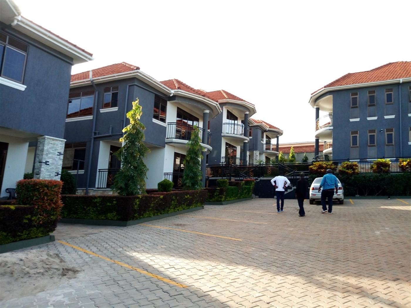 Duplex for rent in Bukasa Kampala