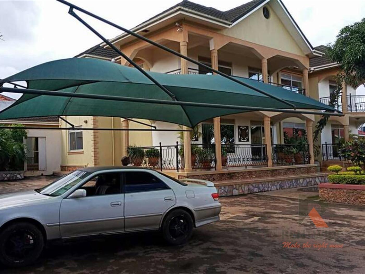 Storeyed house for rent in Mbalwa Wakiso