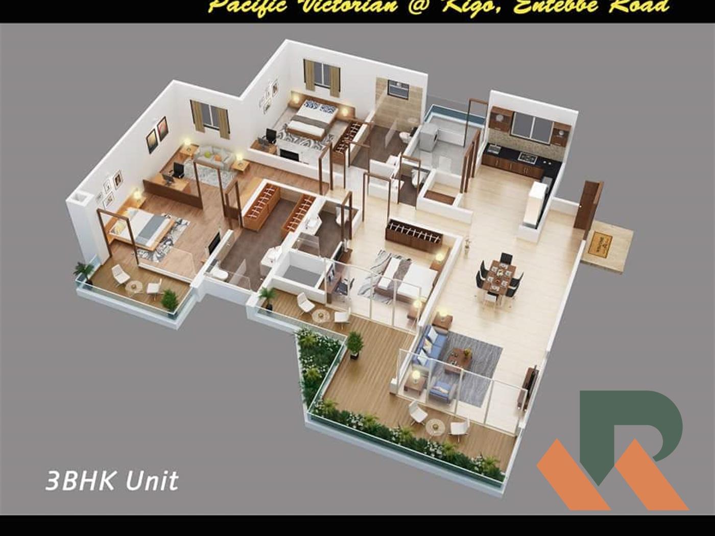 Apartment for sale in Kigo Wakiso