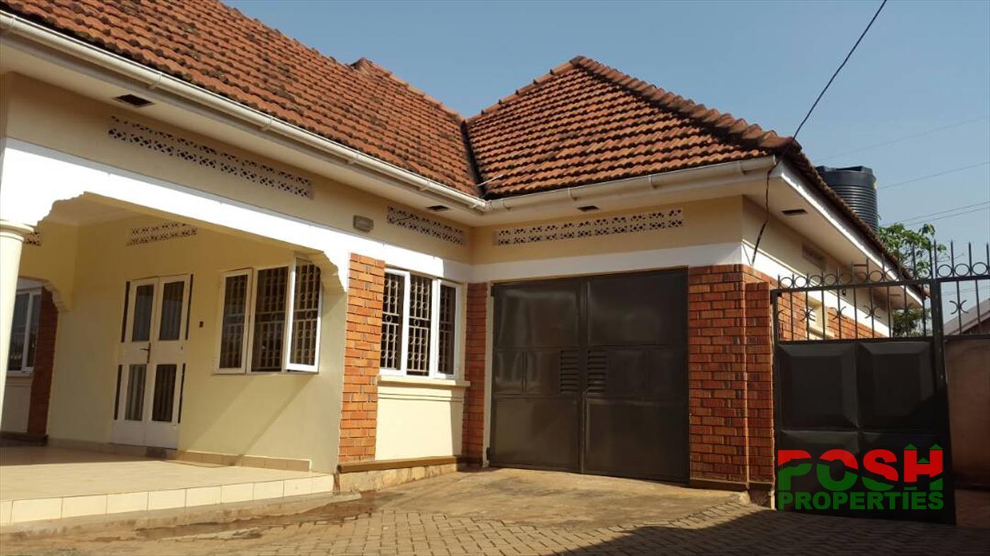Bungalow for sale in Kyaliwajala Wakiso