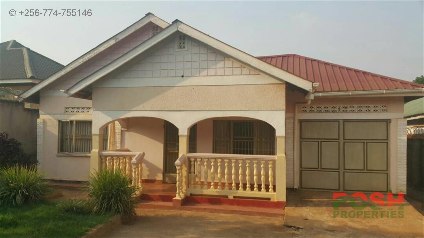 Bungalow for sale in Namanve Wakiso