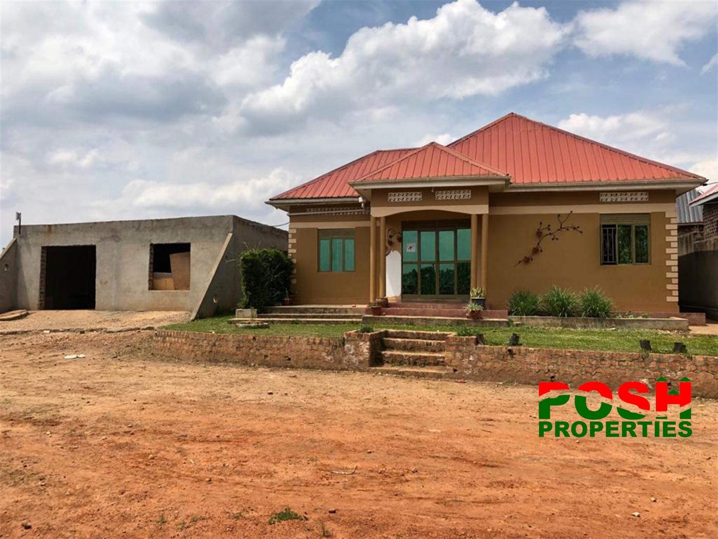 Bungalow for sale in Nsangi Masaka