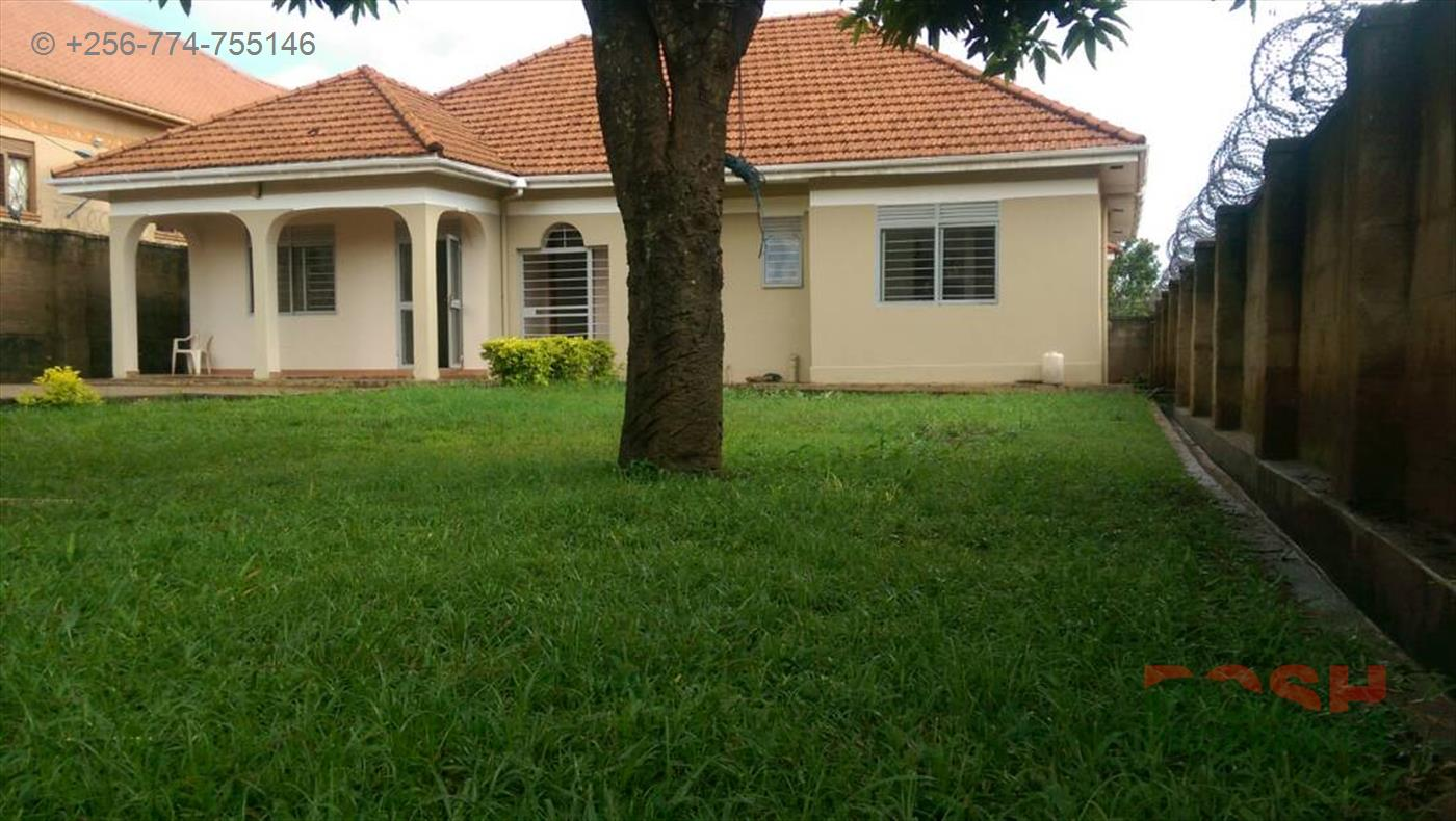 Bungalow for sale in Kisaasi Wakiso