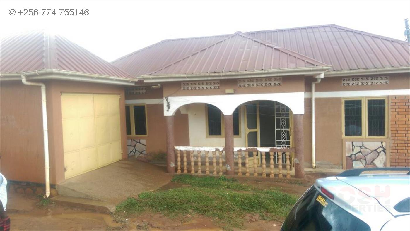 Bungalow for sale in Masanafu Wakiso