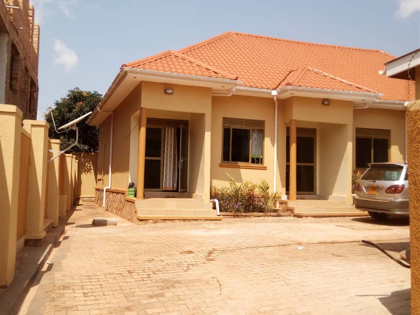 Semi Detached for sale in Namugongo Mukono