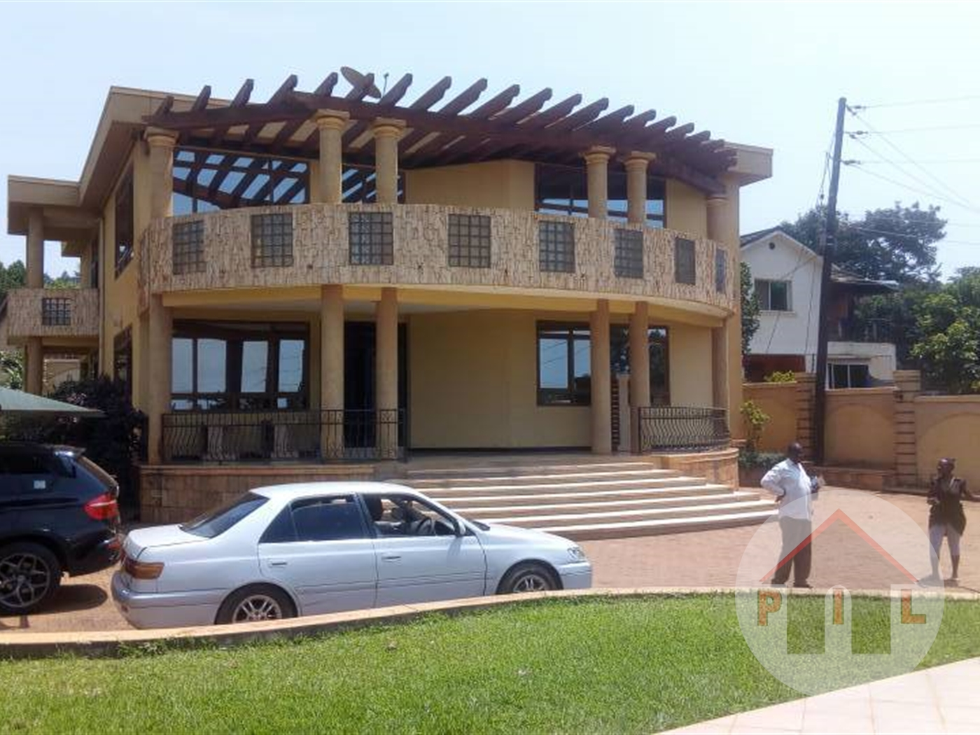 Mansion for sale in Lutembe Wakiso