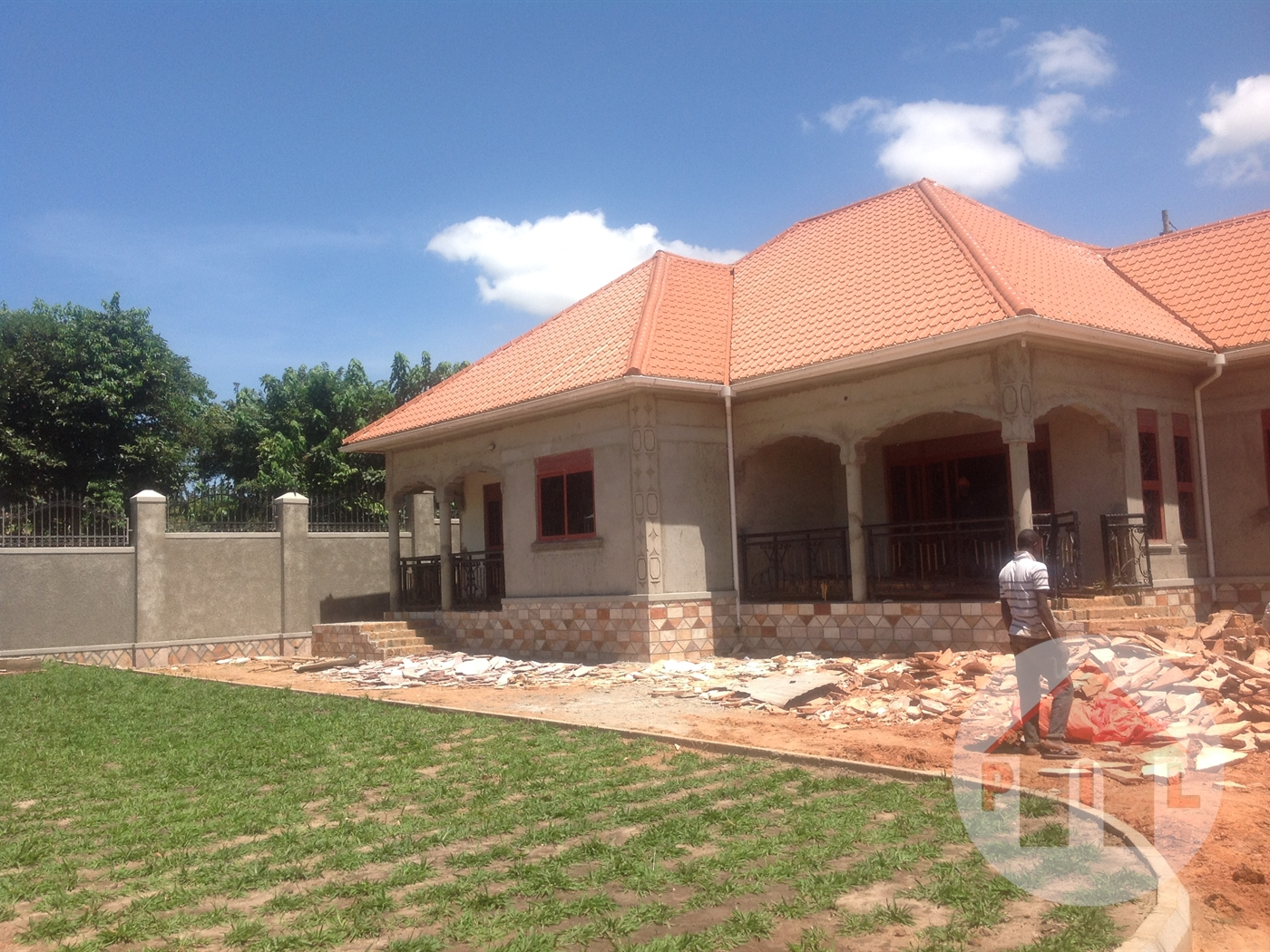 Shell house for sale in kyengera wakiso front view main image