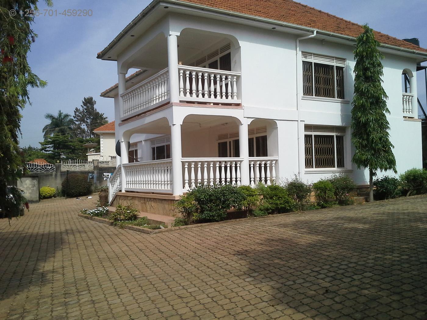 Bungalow for rent in Kiwafu road Kampala