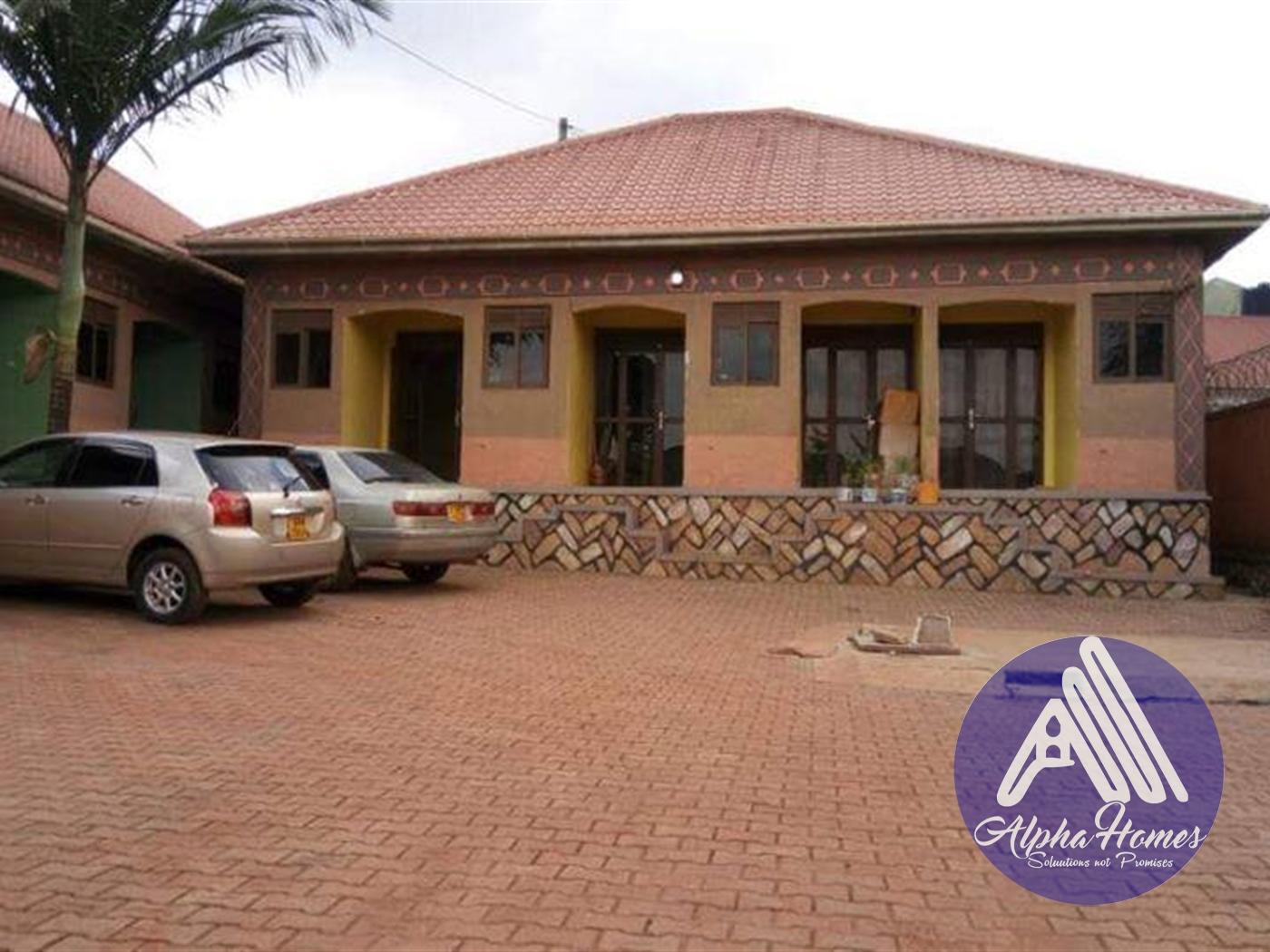 Semi Detached for rent in Kulambiro Wakiso