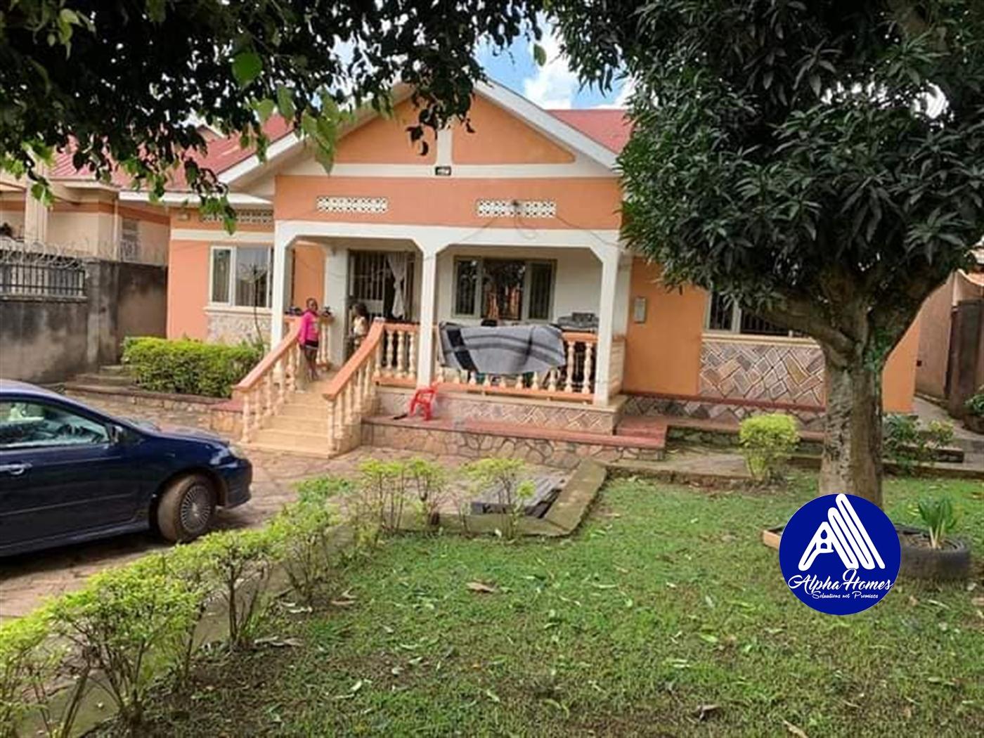 Bungalow for sale in Najjera Wakiso