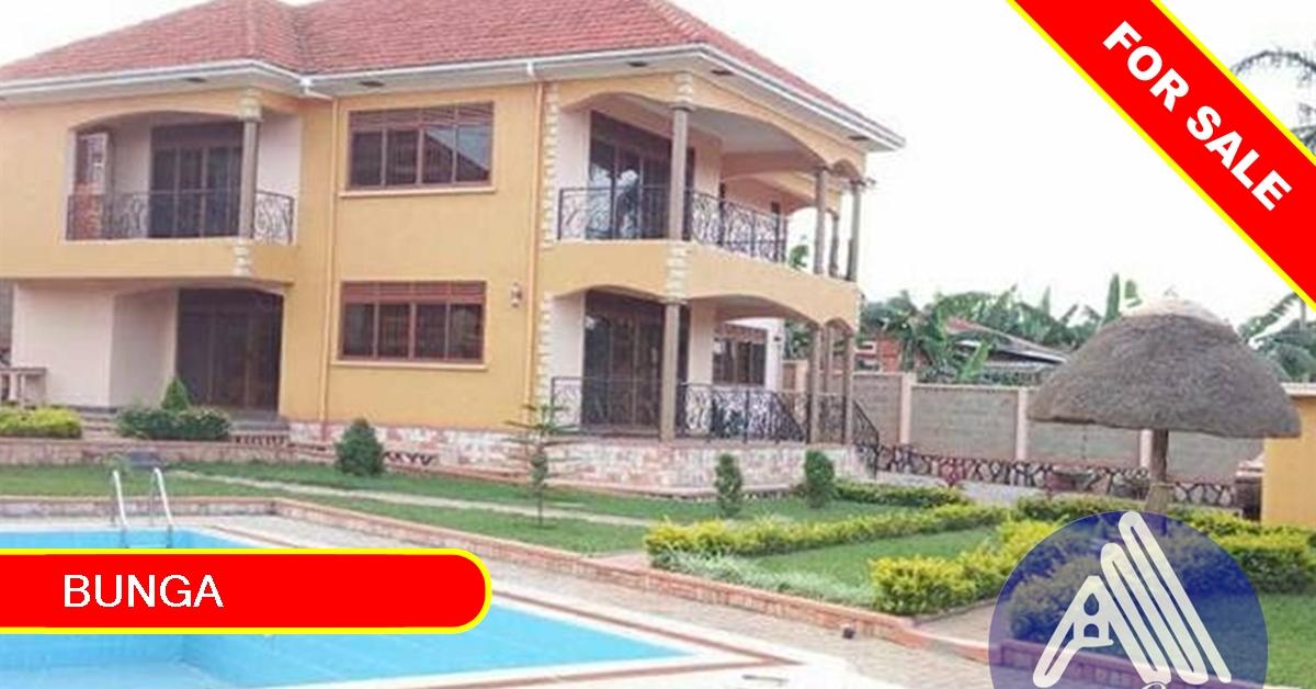 Admirable 6 Bedroom Mansion For Sale In Bunga Kampala Download Free Architecture Designs Intelgarnamadebymaigaardcom