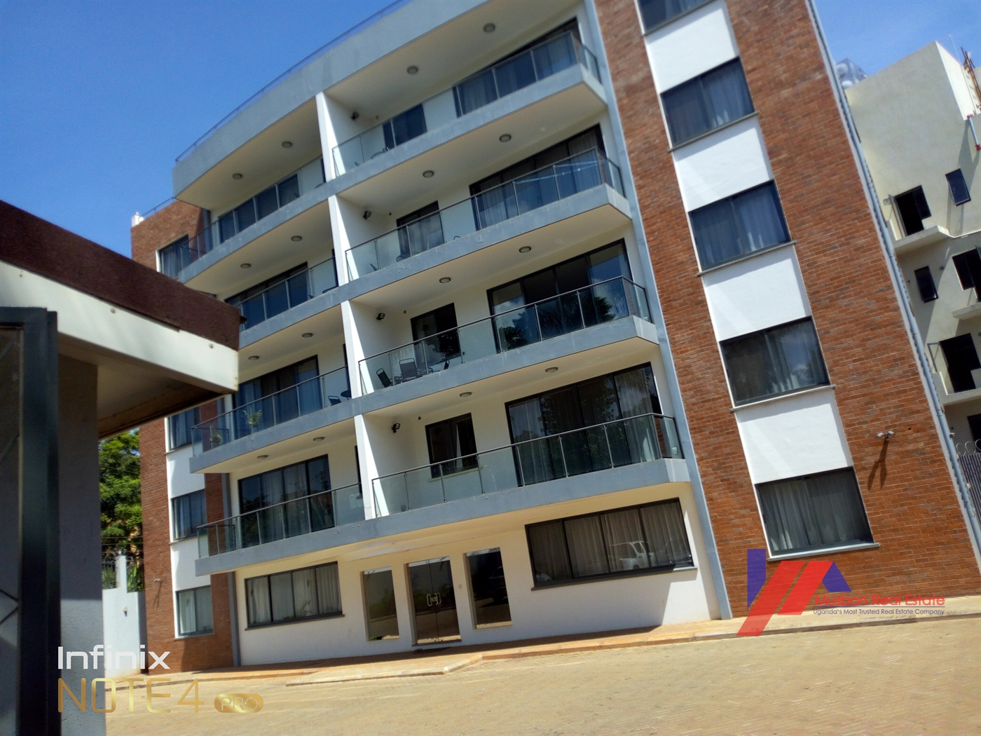 Commercial block for sale in Kololo Kampala