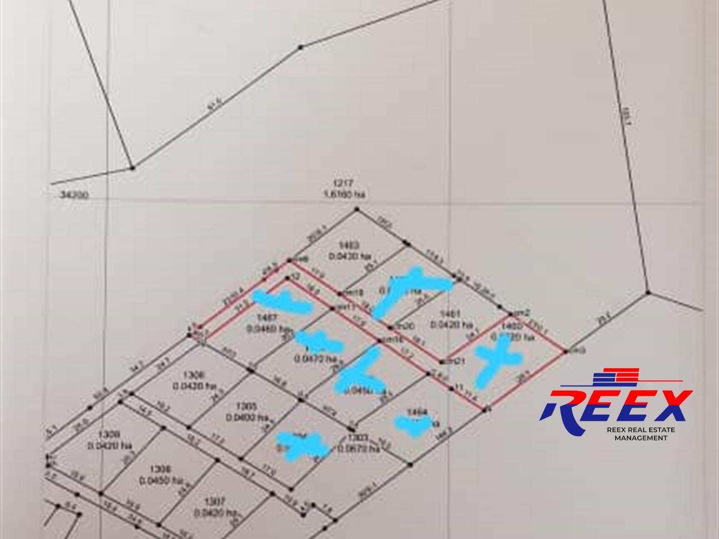 Multipurpose Land for sale in Kyetume Mukono