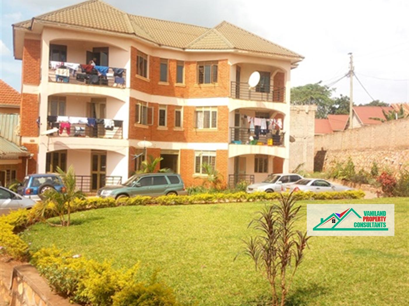 Apartment for rent in Kisaasi Kampala