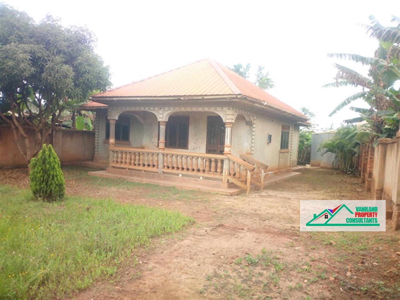 Bungalow for sale in Bukerere Mukono