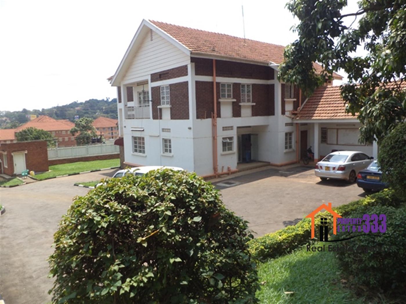 Mansion for rent in Nakasero Kampala