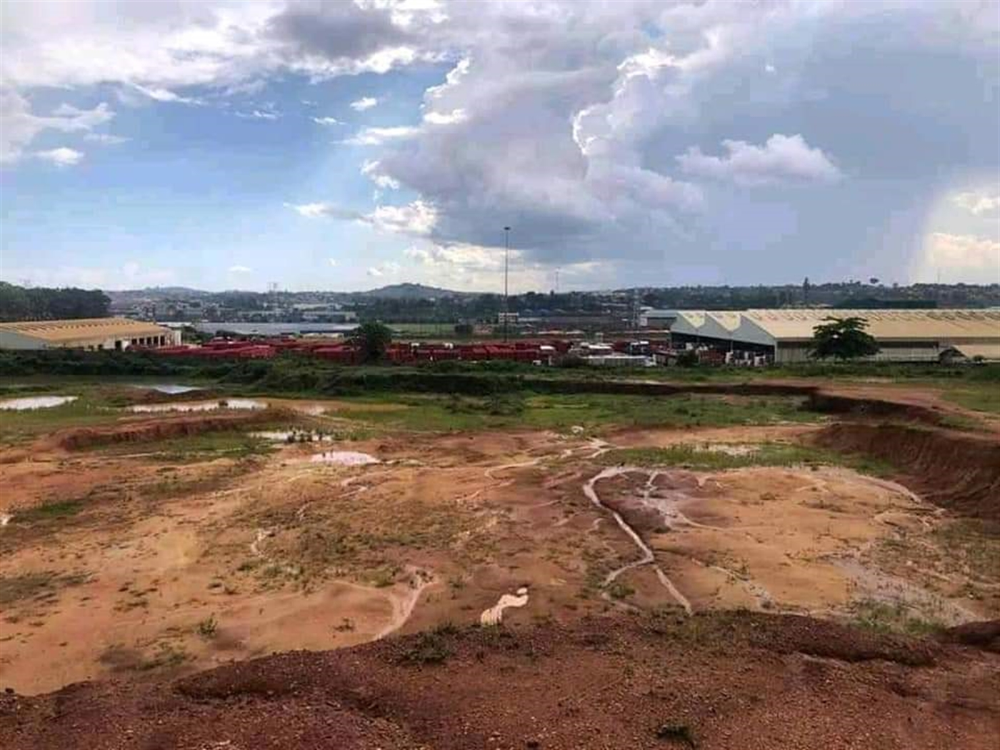 Industrial Land for rent in Namanve Wakiso