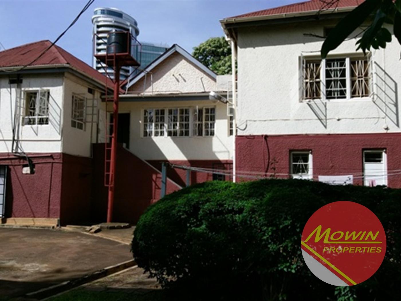 Bungalow for rent in Nakasero Kampala